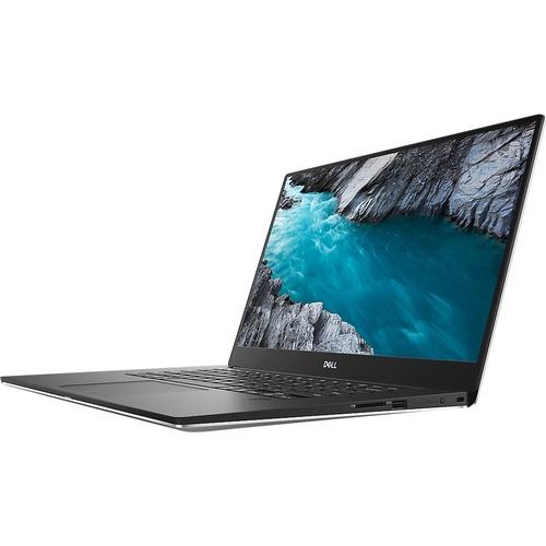 "Dell XPS 15 7590 15.6"" Touchscreen Notebook - 3840 x 2160 - Intel Core i7 (9th Gen) i7-9750H Hexa-core (6 Core) - 32 GB RAM - 1 TB SSD - Silver"