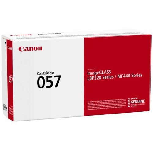 Canon 057 Original Toner Cartridge   Black 300/500
