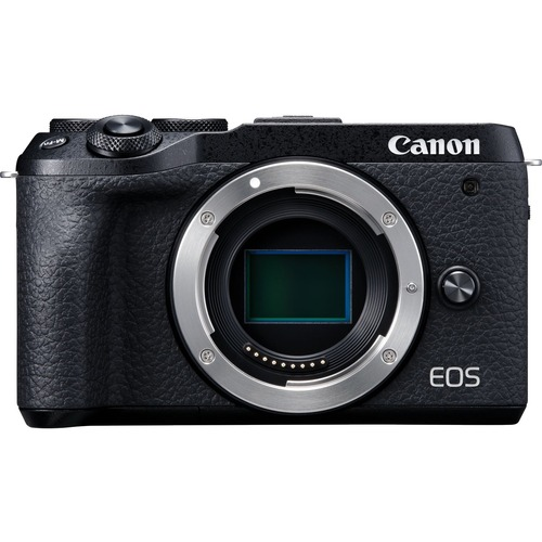 Canon EOS M6 Mark II 32.5 Megapixel Mirrorless Camera Body Only - Black