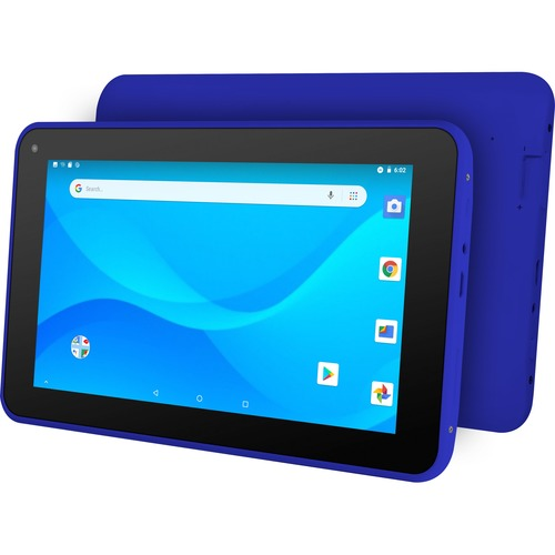 "Ematic EGQ380BU Tablet - 7"" - 1 GB RAM - 16 GB Storage - Android 8.1 Oreo (Go Edition) - Blue"