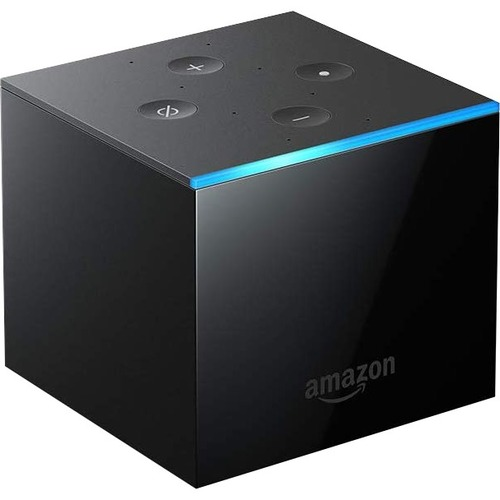Amazon Fire TV Cube Network Audio/Video Player   Wireless LAN   Black 300/500