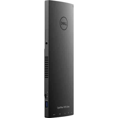 Dell OptiPlex 7000 7070 Desktop Computer - Intel Core i7 8th Gen i7-8565U 1.80 GHz - 16 GB RAM DDR4 SDRAM - 256 GB SSD - Ultra Small