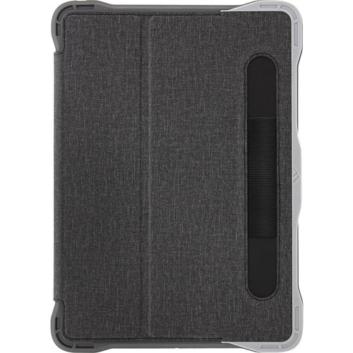 """Brenthaven Edge Folio III Carrying Case (Folio) for 10.2"""" Apple iPad (7th Generation) Tablet - Gray, Translucent"""