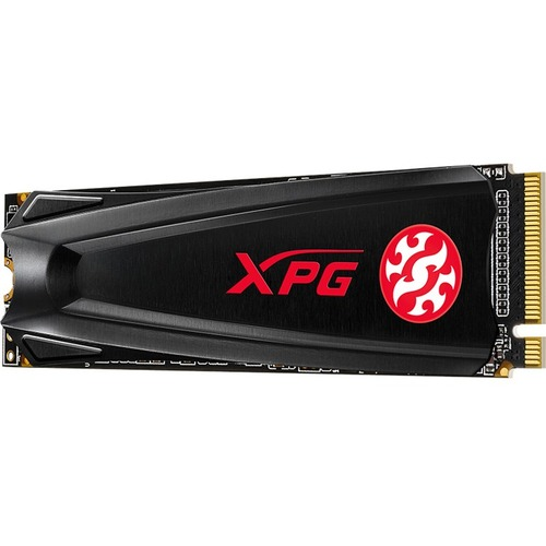 XPG GAMMIX S5 AGAMMIXS5 256GT C 256 GB Solid State Drive   M.2 2280 Internal   PCI Express NVMe (PCI Express NVMe 3.0 X4) 300/500