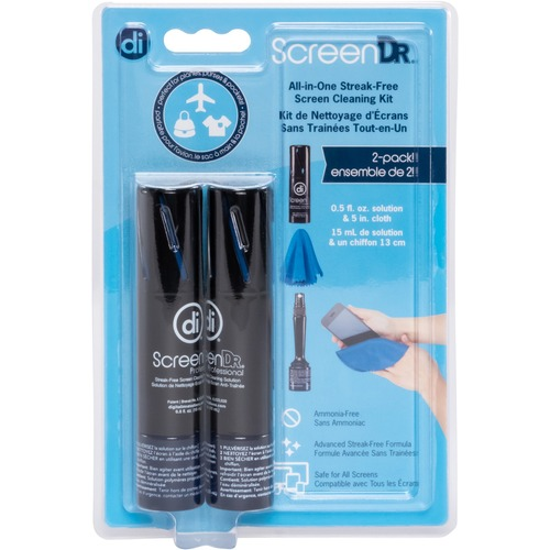 Digital Innovations ScreenDr 0.5oz. Screen Cleaning Kit 2-pack