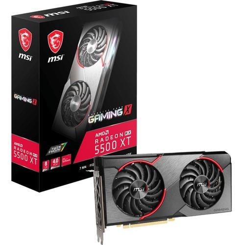 MSI Radeon RX 5500 XT GAMING X 8G Radeon RX 5500 XT Graphic Card   8 GB GDDR6 300/500