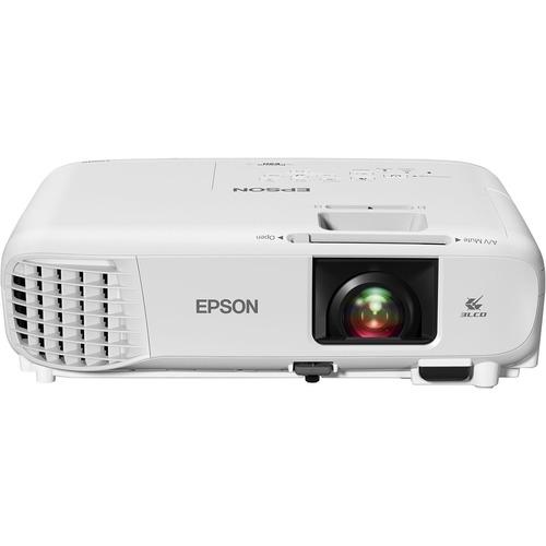 Epson PowerLite E20 LCD Projector - 4:3 - White