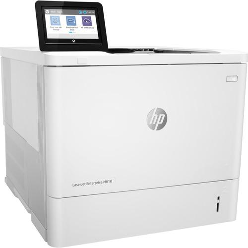 HP LaserJet Enterprise M610dn Laser Printer - Monochrome