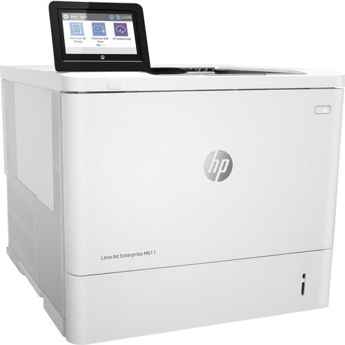 HP LaserJet Enterprise M611dn Laser Printer - Monochrome