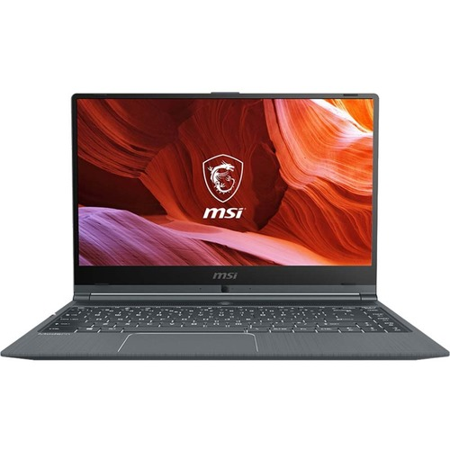 "MSI Modern 14 14"" Laptop Intel Core i5-10210U 8GB RAM 512GB SSD Carbon Gray - 10th Gen i5-10210U Quad-core - In-plane Switching (IPS) Technology - True Color Technology - 11 hr battery life - Windows 10 Pro"