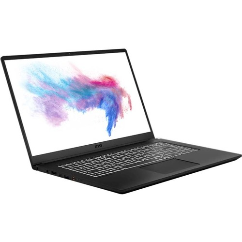 "MSI Modern 15 15.6"" Laptop Intel Core i5-10210U 8GB RAM 512GB SSD Onyx Black Brushed - 10th Gen Core i5-10210U Quad-core - In-plane Switching (IPS) Technology - True Color Technology - Windows 10 Pro - Up to 9 hr battery life"