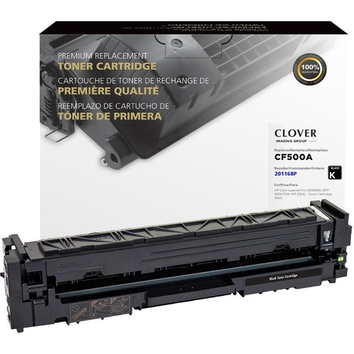 Clover Technologies Remanufactured Toner Cartridge   Alternative For HP 202A   Black 300/500