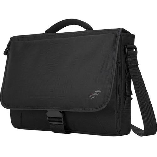 "Lenovo Carrying Case (Messenger) for 15.6"" Notebook - Black"