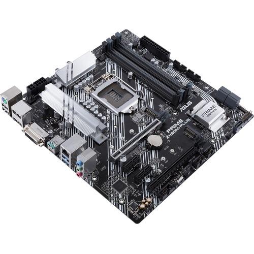 Asus Prime Z490M-PLUS Desktop Motherboard - Intel Chipset - Socket LGA-1200