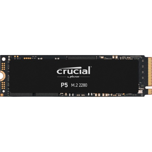 Crucial P5 CT500P5SSD8 500 GB Solid State Drive   M.2 2280 Internal   PCI Express NVMe (PCI Express NVMe 3.0) 300/500