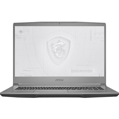 """MSI WF65 10TJ WF65 10TJ-443 15.6"""" Mobile Workstation - Full HD - 1920 x 1080 - Intel Core i7 (10th Gen) i7-10750H 2.60 GHz - 16 GB RAM - 1 TB SSD - Silver"""