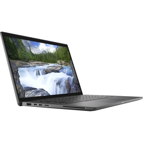 """Dell Latitude 7000 7410 14"""" Touchscreen 2 in 1 Notebook - Full HD - 1920 x 1080 - Intel Core i7 (10th Gen) i7-10610U Quad-core (4 Core) 1.80 GHz - 16 GB RAM - 256 GB SSD - Aluminum Titan Gray"""