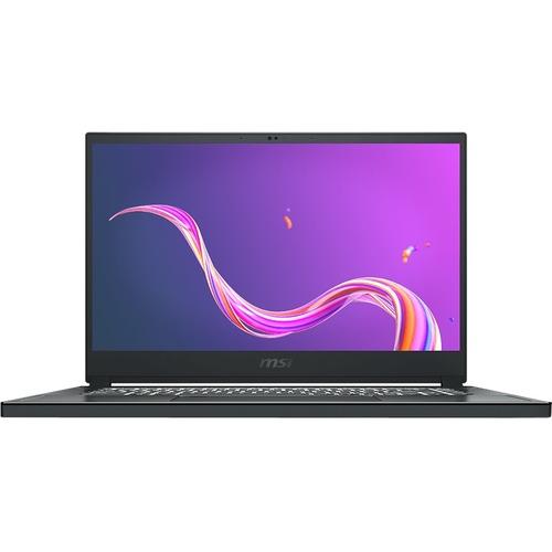 "MSI Creator 15 Creator 15 A10SFT-053 15.6"" Touchscreen Gaming Notebook - Full HD - 1920 x 1080 - Intel Core i7 (10th Gen) i7-10875H Octa-core (8 Core) 2.30 GHz - 16 GB RAM - 512 GB SSD - Space Gray with Silver Diamond Cut"