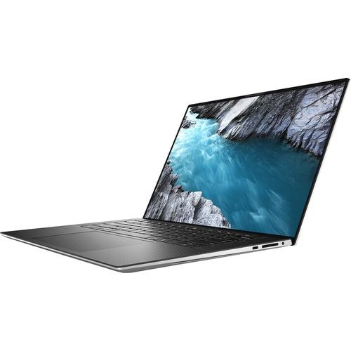 """Dell XPS 15 9500 15.6"""" Notebook - Full HD Plus - 1920 x 1200 - Intel Core i7 (10th Gen) i7-10750H Hexa-core (6 Core) - 16 GB RAM - 512 GB SSD - Platinum Silver, Carbon Fiber Black"""