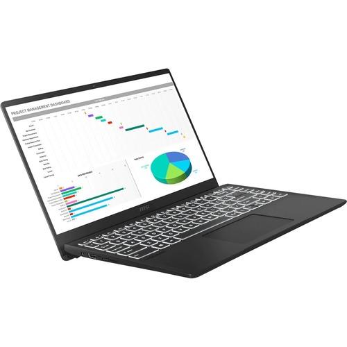 "MSI Modern 14 - B10R Modern 14 B10RASW-079 14"" Gaming Notebook - Full HD - 1920 x 1080 - Intel Core i5 (10th Gen) i5-10210U 1.60 GHz - 8 GB RAM - 512 GB SSD - Onyx Black"