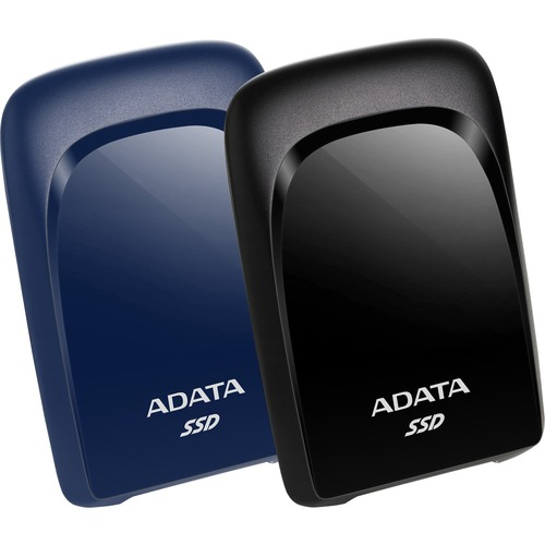 Adata SC680 480 GB Portable Solid State Drive - External - Blue