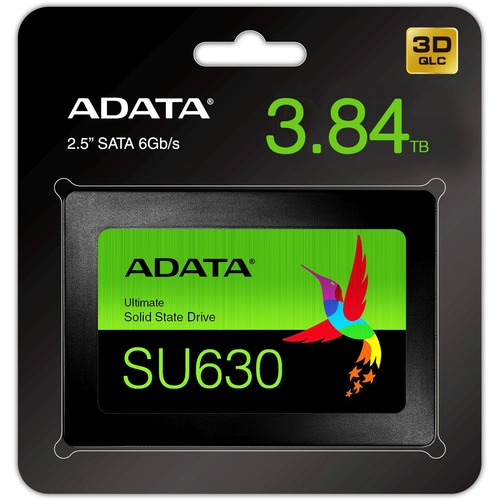 "Adata Ultimate SU630 ASU630SS 3T84Q R 3.84 TB Solid State Drive   2.5"" Internal   SATA (SATA/600) 300/500"