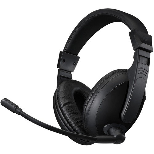 Adesso Xtream H5U   USB Stereo Headset With Microphone   Noise Cancelling   Wired  Lightweight 300/500