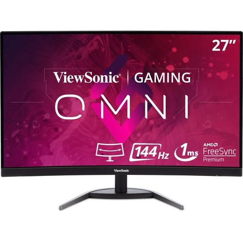 """Viewsonic VX2768-2KPC-MHD 27"""" WQHD Curved Screen LED Gaming LCD Monitor - 16:9"""