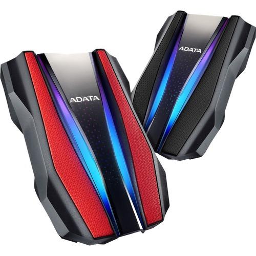 Adata HD770G AHD770G-1TU32G1-CRD 1 TB Hard Drive - External - Red