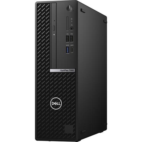 Dell OptiPlex 7000 7080 Desktop Computer - Intel Core i5 10th Gen i5-10500 Hexa-core (6 Core) 3.10 GHz - 16 GB RAM DDR4 SDRAM - 256 GB SSD - Small Form Factor - Black