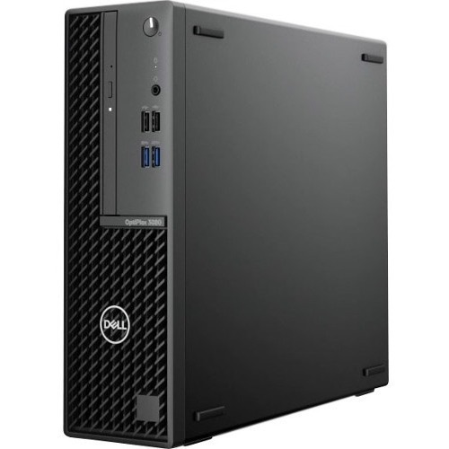 Dell OptiPlex 3000 3080 Desktop Computer   Intel Core I3 10th Gen I3 10100 Quad Core (4 Core) 3.60 GHz   8 GB RAM DDR4 SDRAM   128 GB SSD   Small Form Factor 300/500
