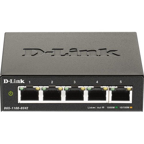 D-Link DGS-1100-05V2 Ethernet Switch