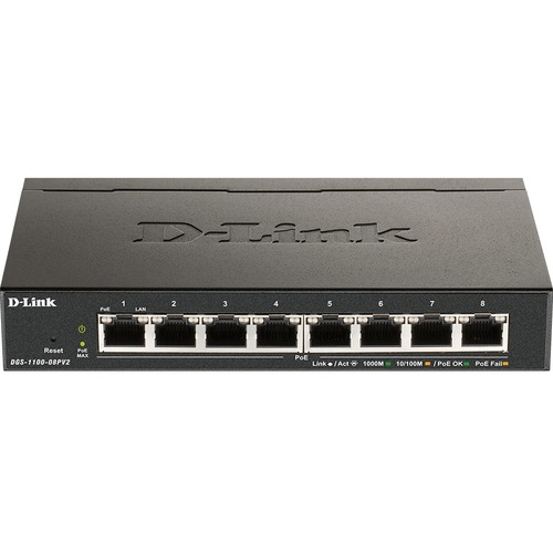 D Link DGS 1100 08PV2 Ethernet Switch 300/500
