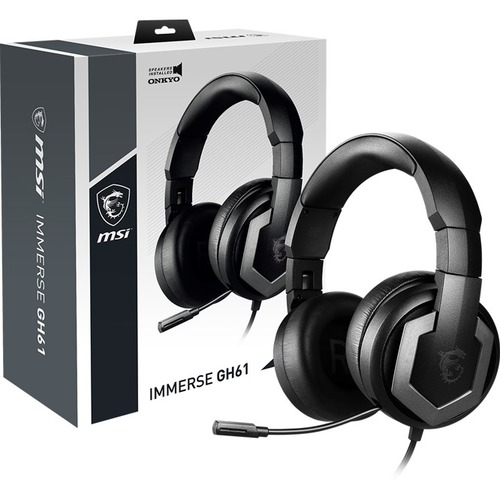 MSI Immerse GH61 Gaming Headset Audio By ONKYO 300/500