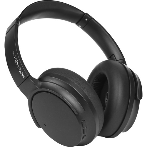 Morpheus 360® SYNERGY Wireless Noise Cancelling Over Ear Headphones, AptX® Immersive Sound, CVC 8.0 Noise Cancelling Microphone, 40 Hour Play Time, Travel Case, Black HP9500B 300/500