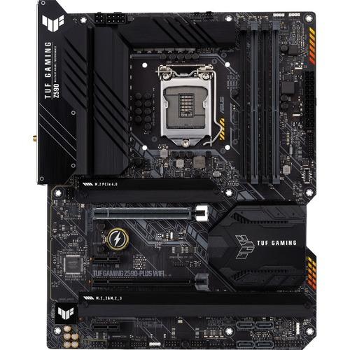 TUF GAMING Z590 PLUS WIFI Desktop Motherboard   Intel Chipset   Socket LGA 1200   Intel Optane Memory Ready   ATX 300/500