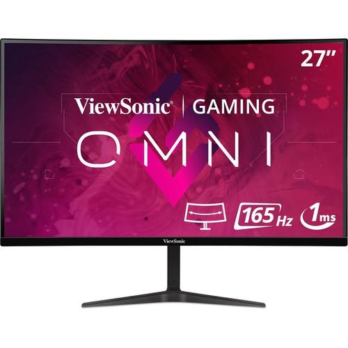 """Viewsonic VX2718-2KPC-MHD 27"""" QHD Curved Screen LED Gaming LCD Monitor - 16:9 - Black"""