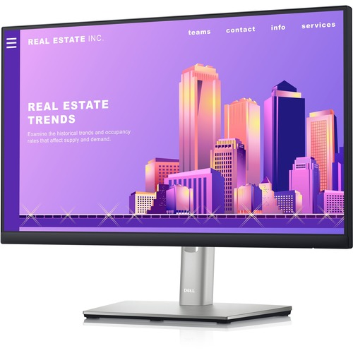 """Dell P2222H 21.5"""" Full HD WLED LCD Monitor - 16:9 - Black, Silver"""