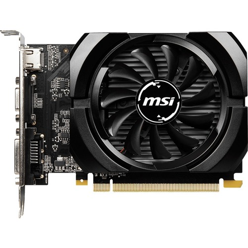 MSI NVIDIA GeForce GT 730 Graphic Card - 4 GB GDDR3