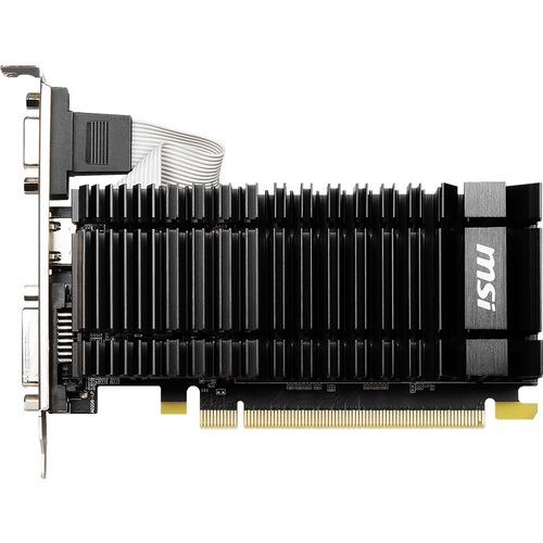 MSI NVIDIA GeForce GT 730 Graphic Card   2 GB DDR3 SDRAM   Low Profile 300/500