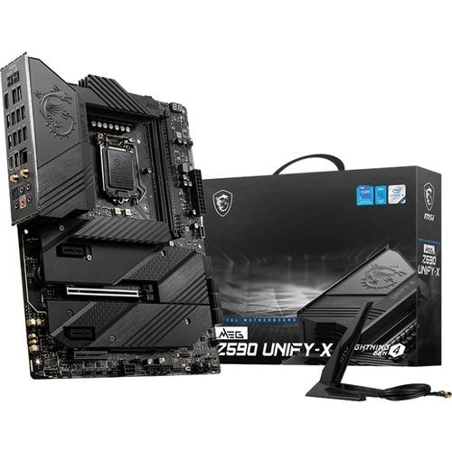 MSI MEG Z590 UNIFY-X Gaming Desktop Motherboard - Intel Chipset - Socket LGA-1200 - Intel Optane Memory Ready - ATX