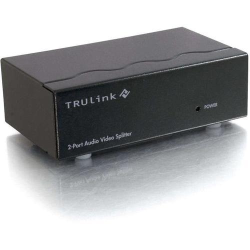 C2G 2 Port UXGA Monitor Splitter/Extender With 3.5mm Audio (Female Input) 300/500