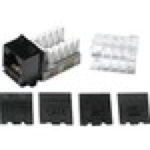 C2G Cat6 RJ45 UTP Keystone Jack - Black