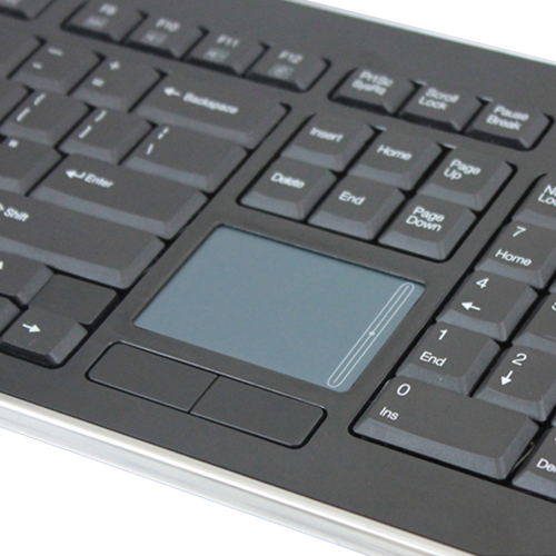 Adesso SlimTouch 4400   Wireless Desktop Touchpad Keyboard Alternate-Image1/500