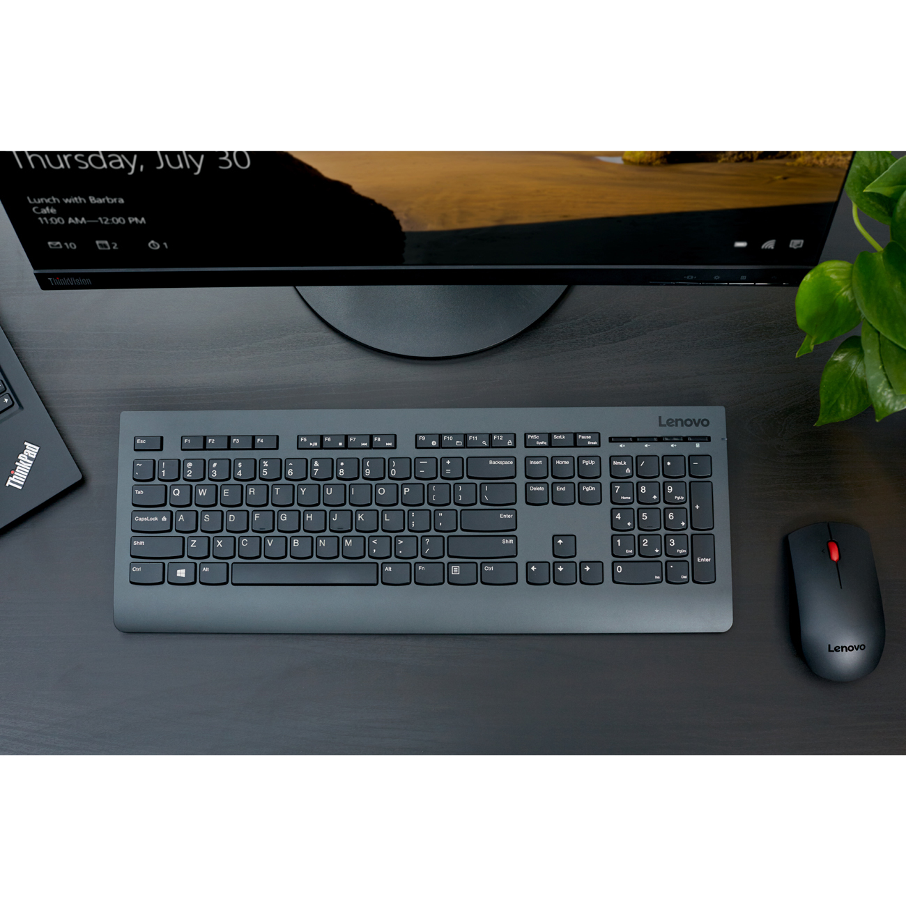 b4d293510cb antonline.com - Lenovo Professional Wireless Keyboard and Mouse Combo