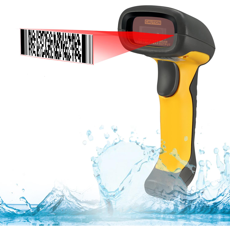 Adesso NuScan 5200TU  Antimicrobial & Waterproof 2D Barcode Scanner Alternate-Image1