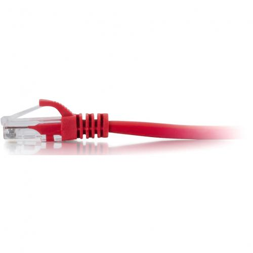 C2G 25ft Cat6 Snagless Unshielded (UTP) Network Patch Cable   Red Alternate-Image1/500