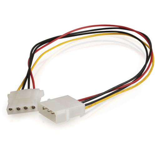 C2G 14in Internal Power Extension Cable For 5 1/4in Connector Alternate-Image1/500