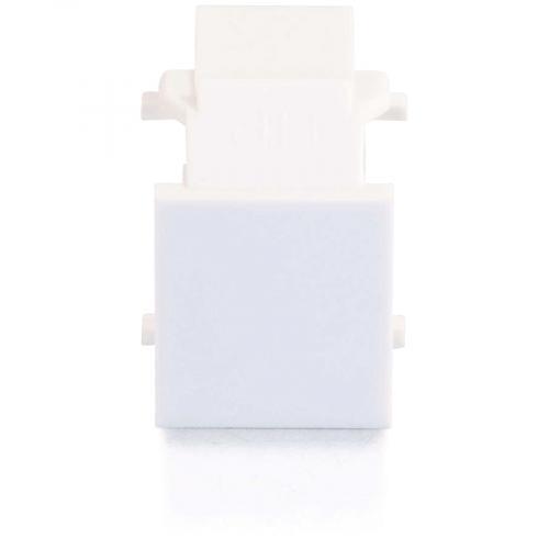 C2G Snap In Blank Keystone Insert Module   White Alternate-Image1/500
