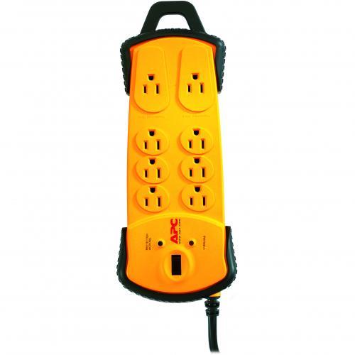 APC SurgeArrest 8 Outlet Surge Suppressor Alternate-Image1/500